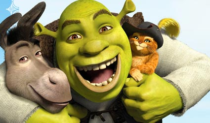 "Max Calls ""Shrek the Third"" His Third Favorite Shrek Movie And Then Waves Melinda Doolittle Goodbye on American Idol."