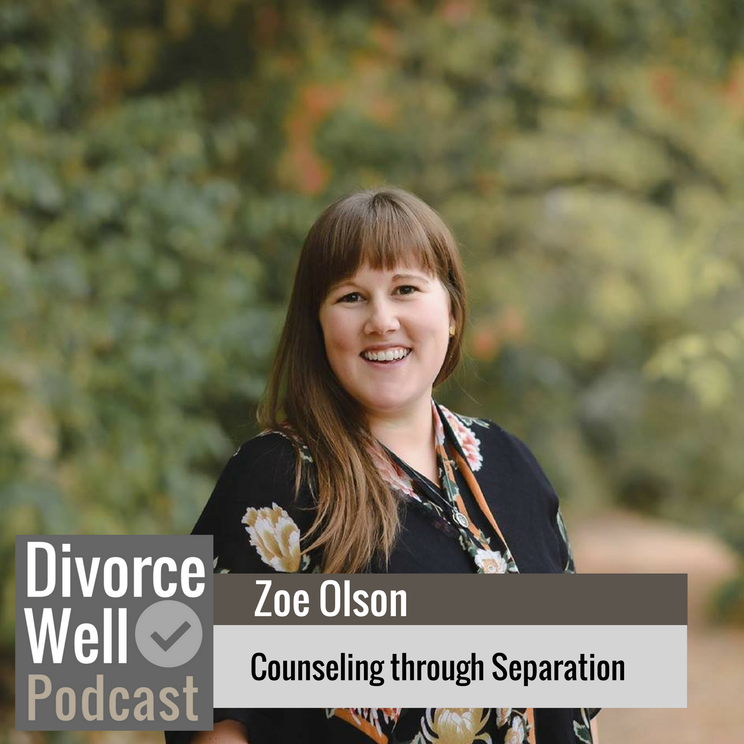 The Divorce Well Podcast - 08 - Counseling through Separation with Zoe Olson