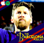 Artwork for How did 10-man Barcelona remain unbeaten in fiery El Clasico? Diana Kristinne, Mike L Goodman, Messi and Cristiano Ronaldo [TBPod85]