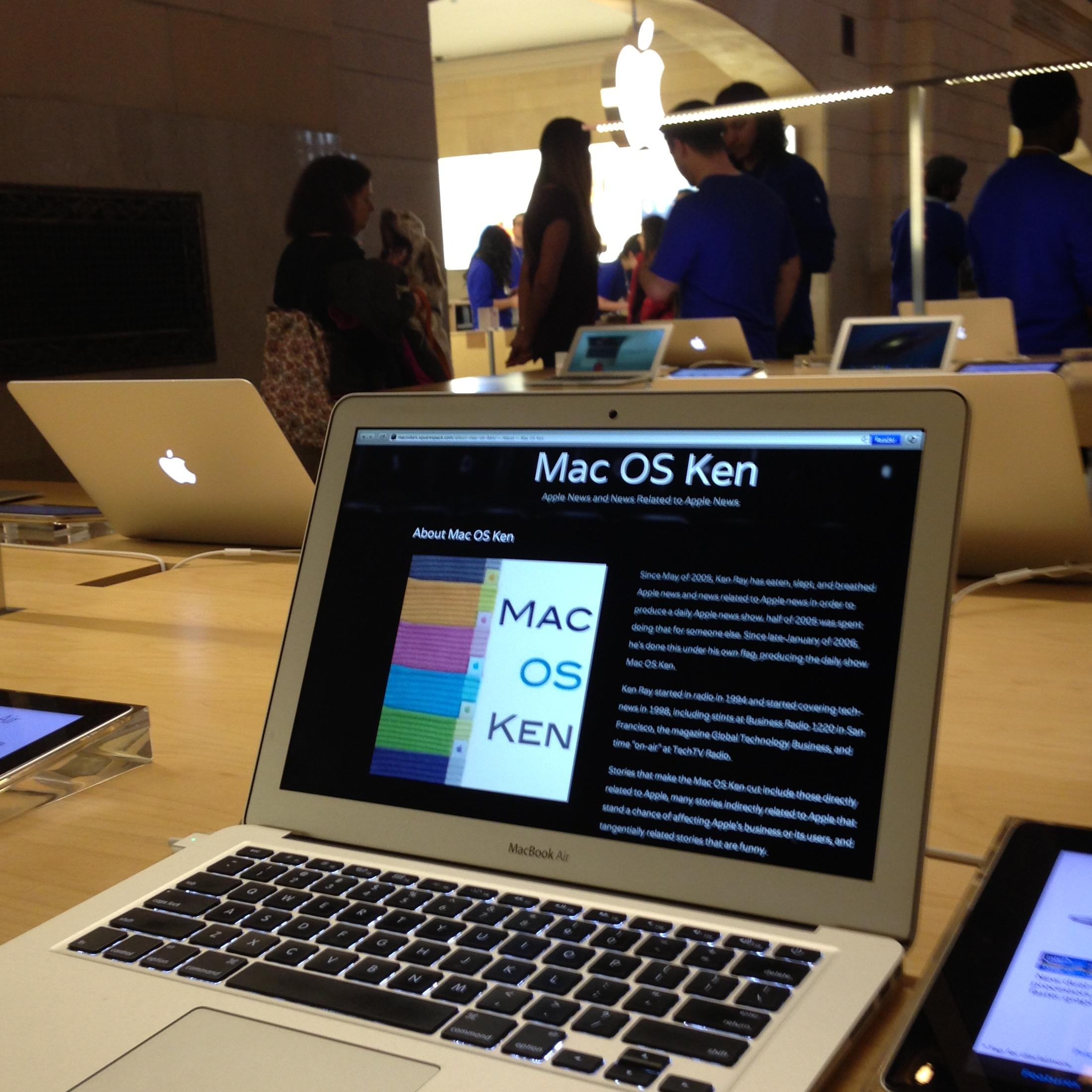 Mac OS Ken: 03.12.2013