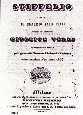 Aroldo/Stiffelio