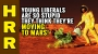 Artwork for Young liberals so STUPID they think they're MOVING to MARS!