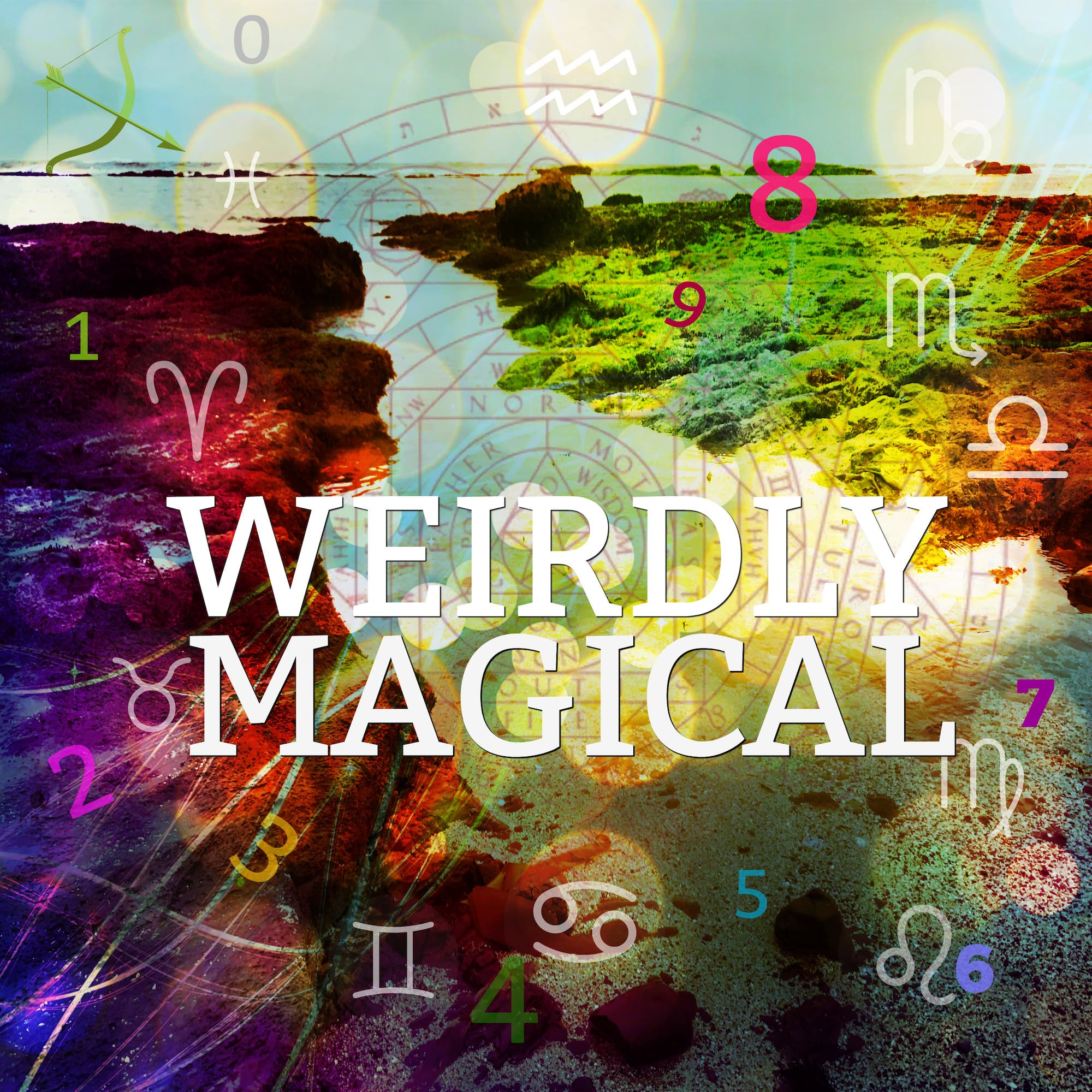 Weirdly Magical with Jen and Lou - Astrology - Numerology - Weird Magic - Akashic Records show art