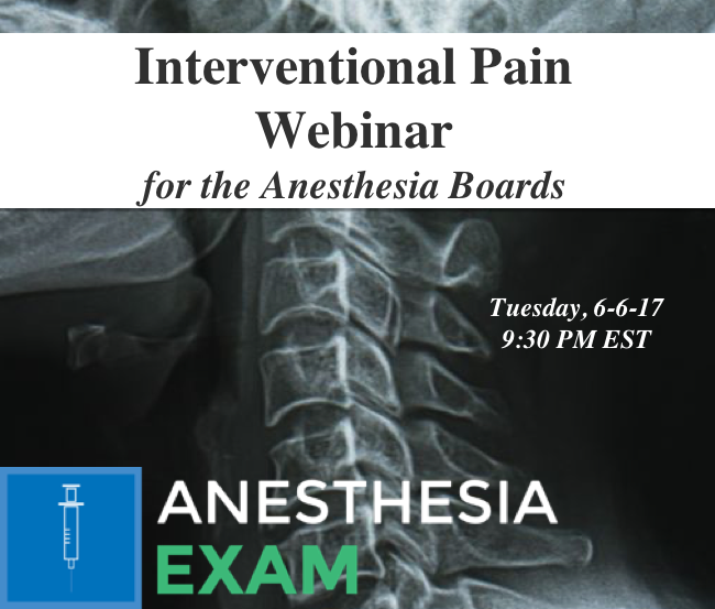 Interventional Pain Webinar