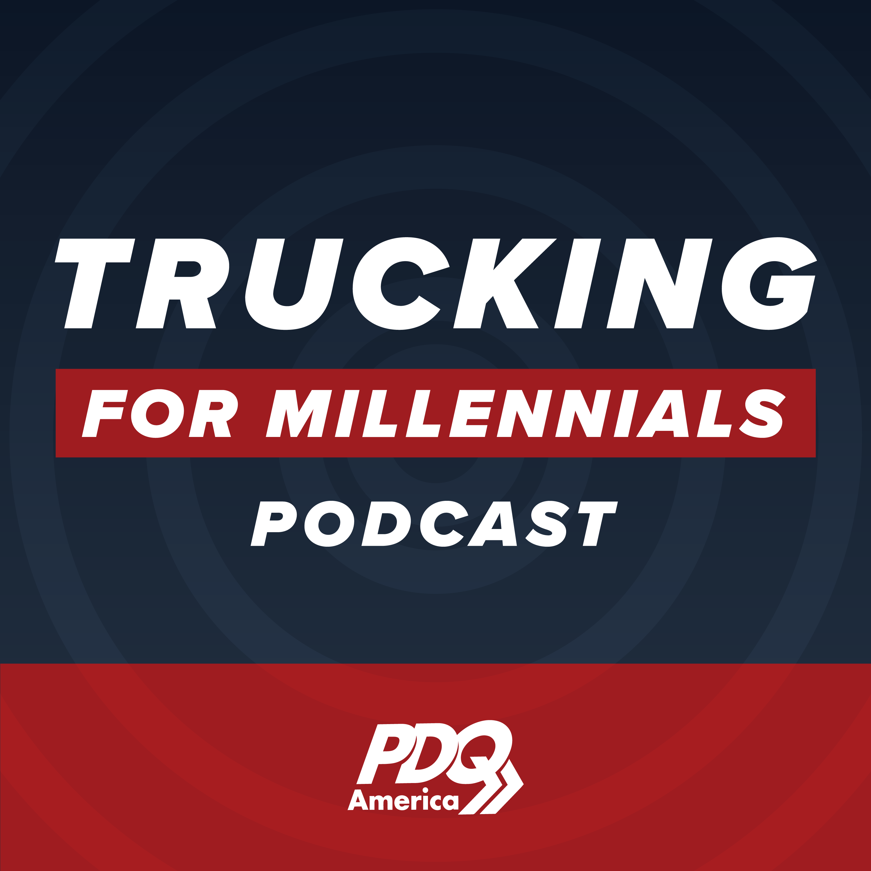Trucking for Millennials show art