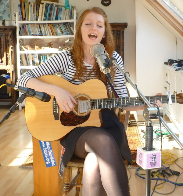 Lucy Zirins on the Upper Deck Sessions