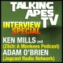Artwork for TALKING APES TV Interview Special - Ken Mills & Adam O'Brien