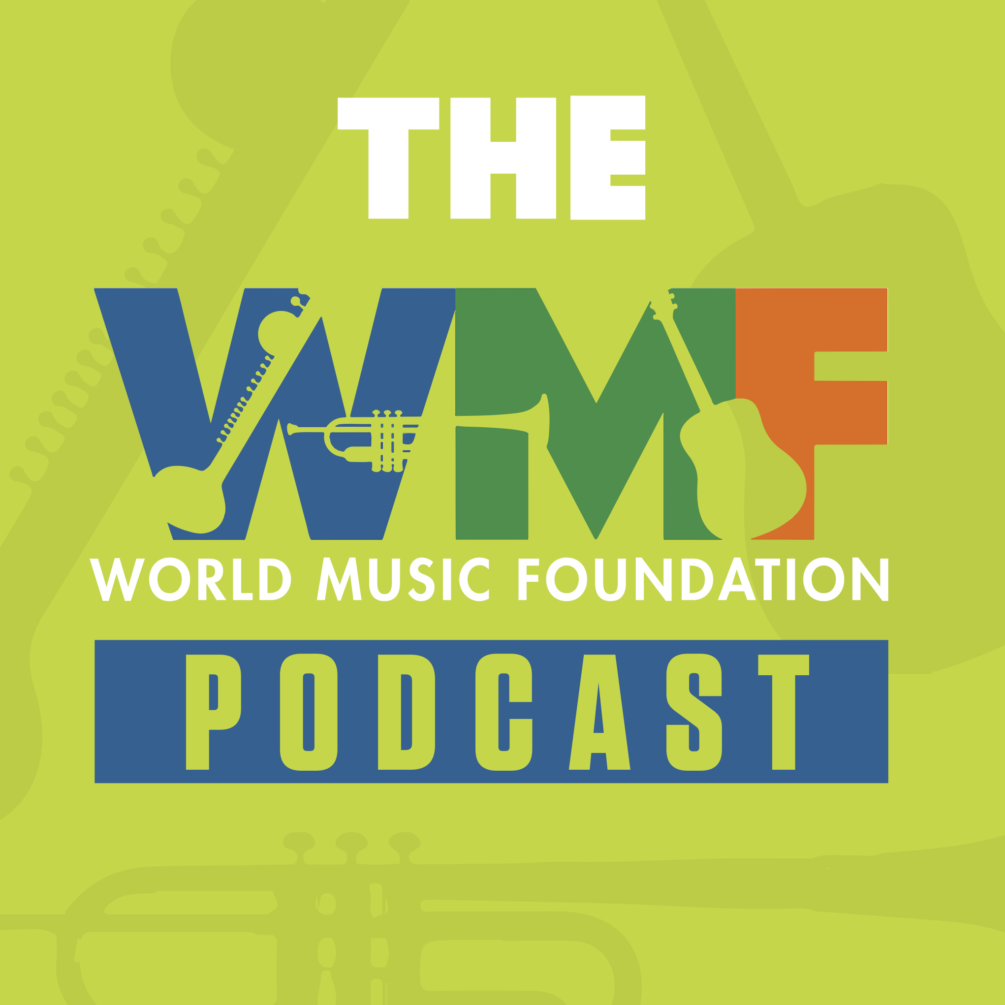 World Music Foundation Podcast show art