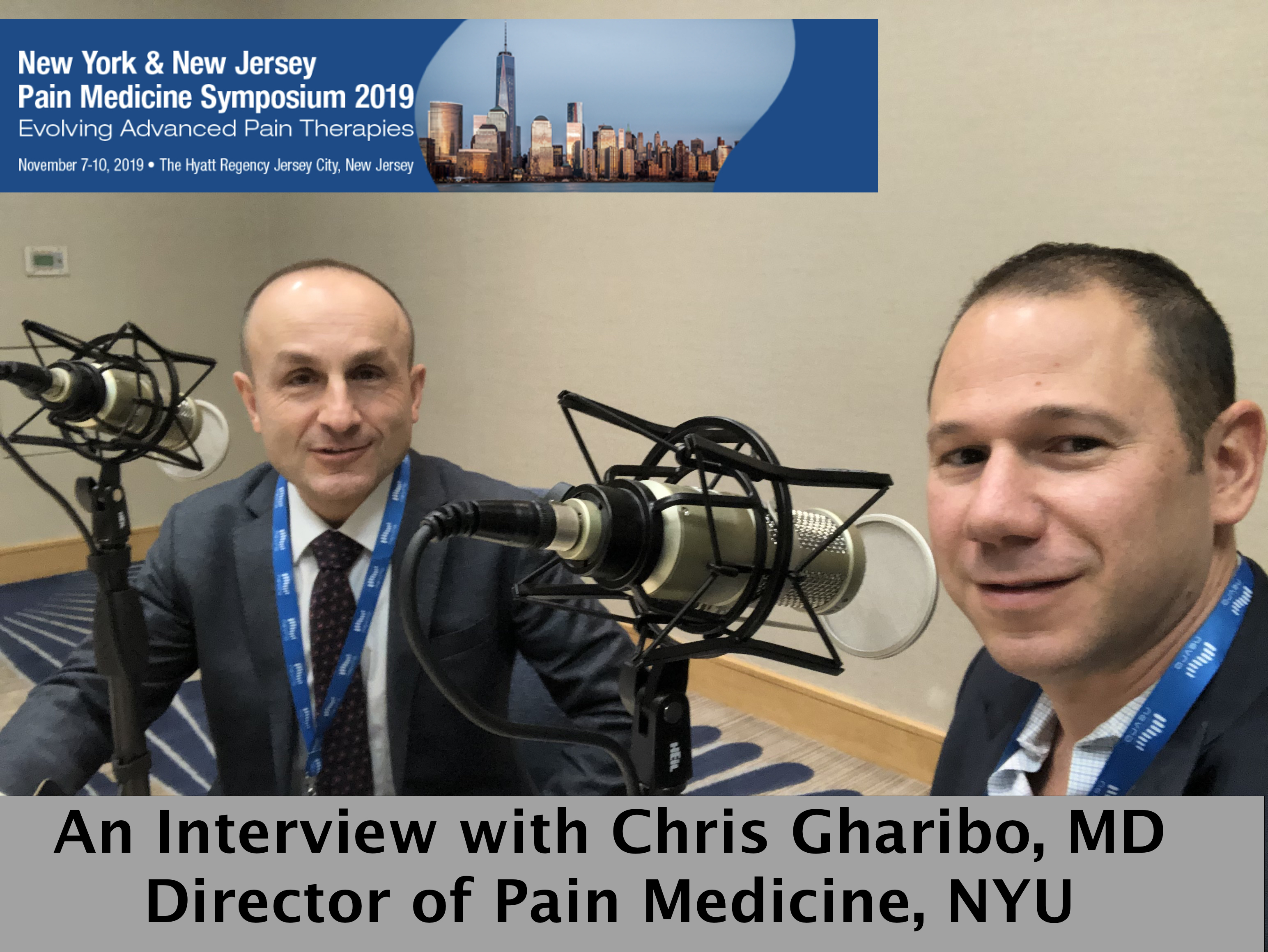 An Interview with Chris Gharibo, MD