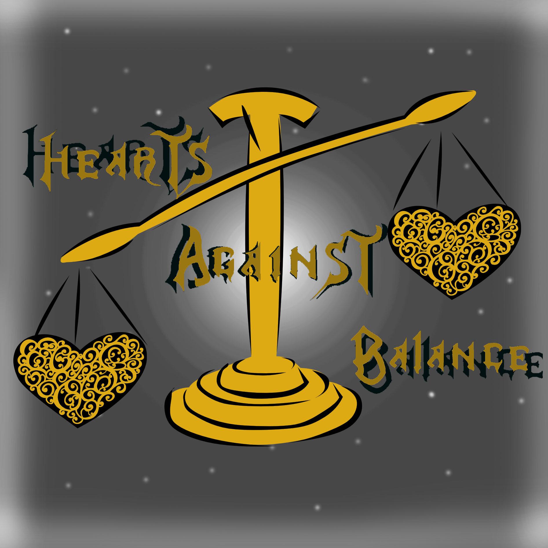 Hearts Against: Balance show art
