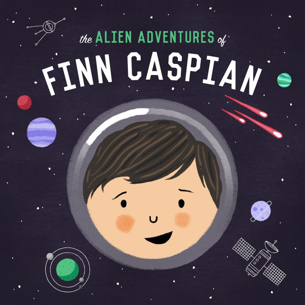 Jonathan Messinger, producer and host of The Alien Adventures of Finn Caspian, and founder of Typedrawer Media