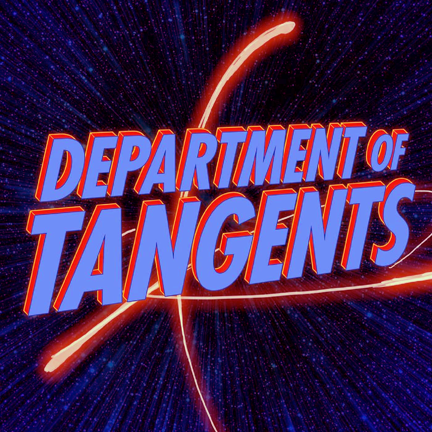 The Department of Tangents Podcast show art