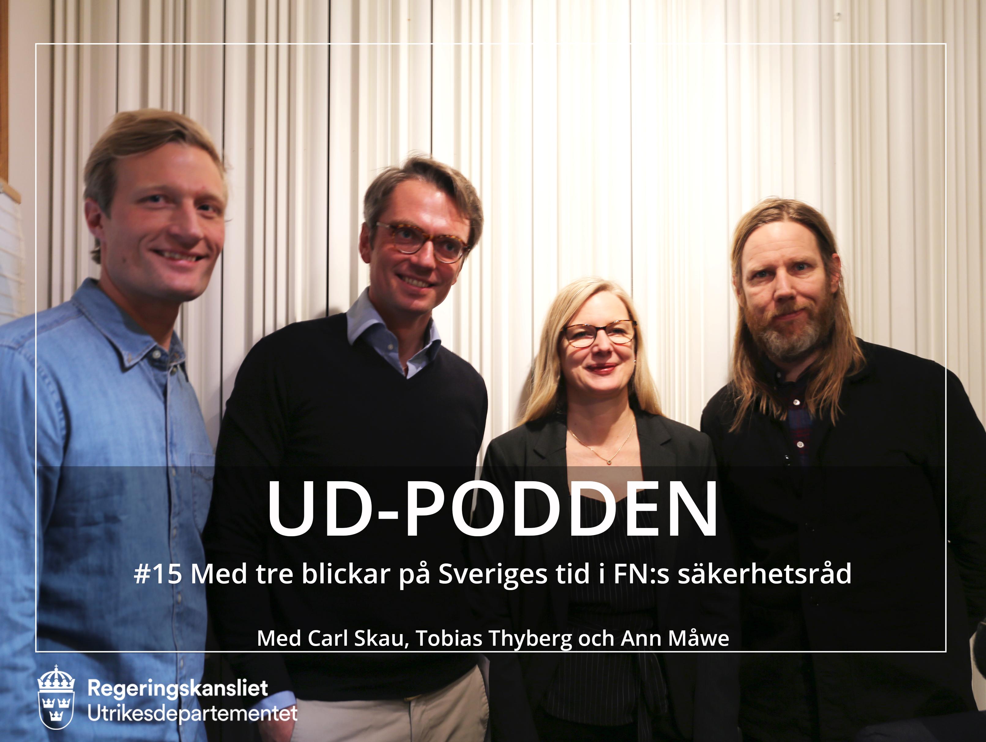 #15 Med tre blickar på Sveriges tid i FN:s säkerhetsråd