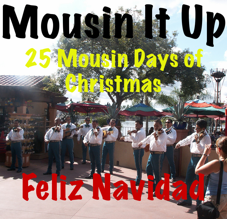 25 Mousin Days of Christmas - Feliz Navidad
