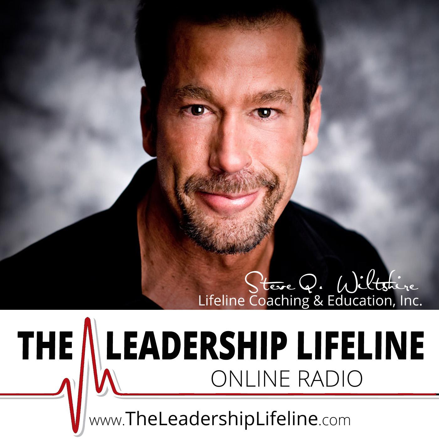 Artwork for 087 Michelle Jones on The Leadership Lifeline Online with Steve Q. Wiltshire (Episode 87)