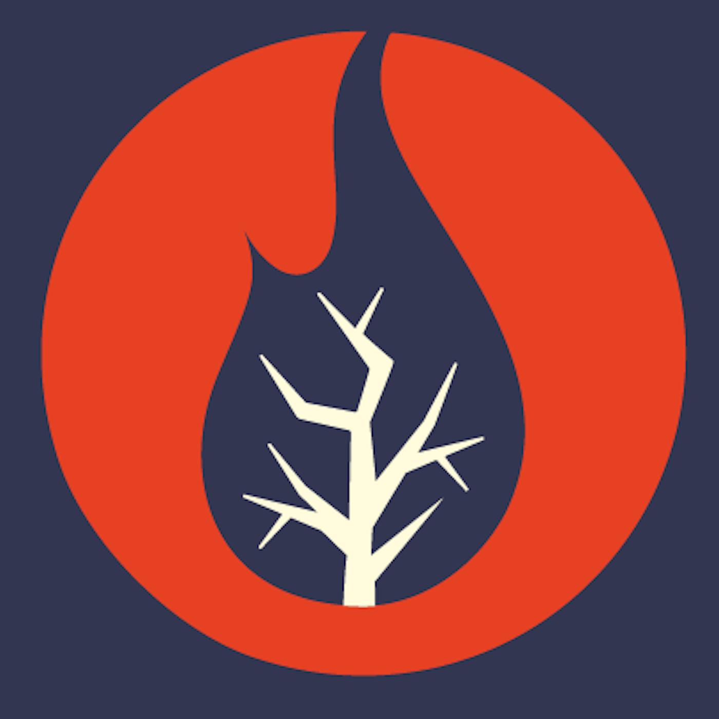Burning Bush podcast show art