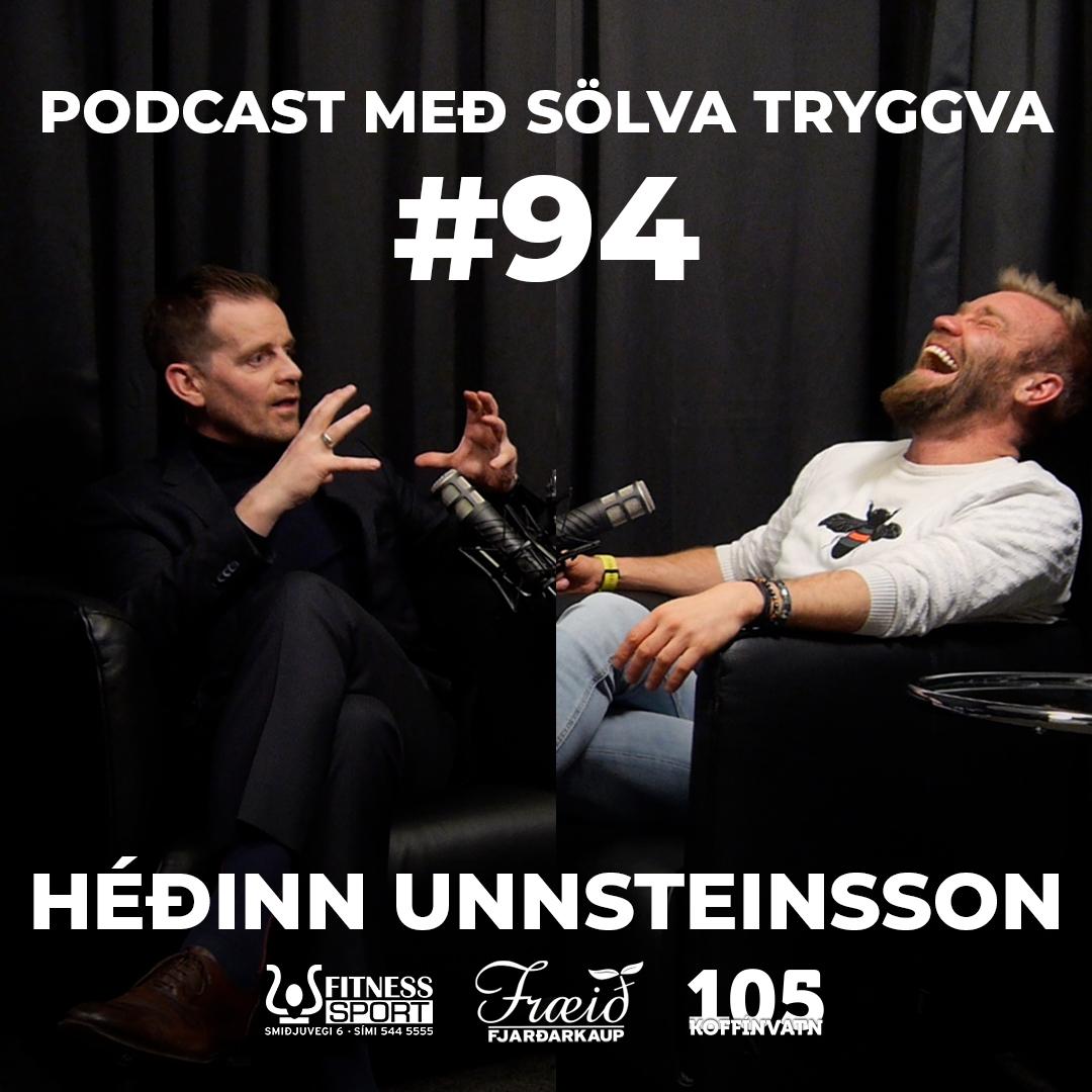 #94 Héðinn Unnsteinsson með Sölva Tryggva