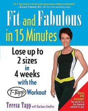 Buy Teresa Tapp's Fit and Fabulous in 15 Minutes Book From Amazon on October 21