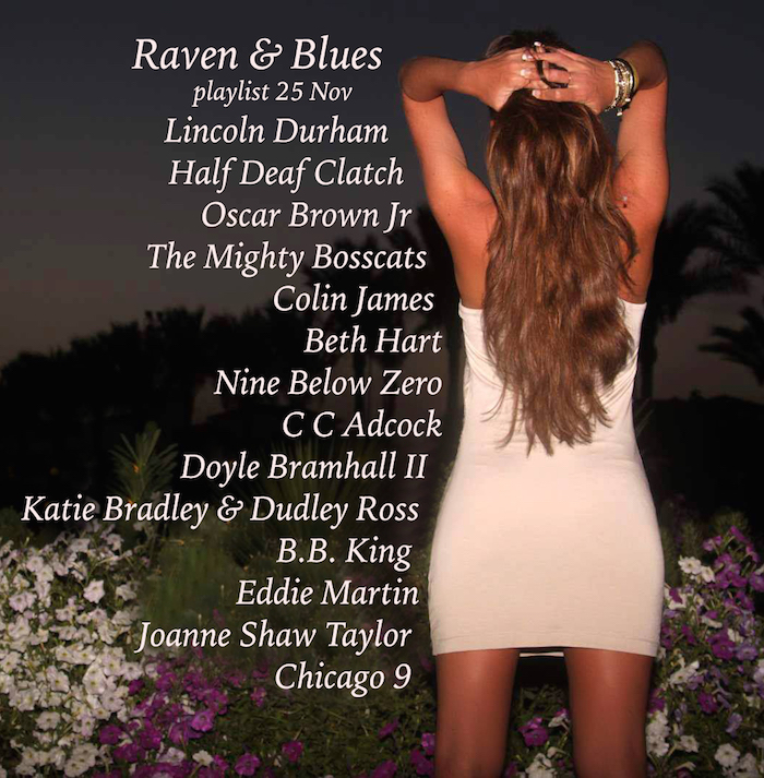 Raven and Blues 25 Nov 2016