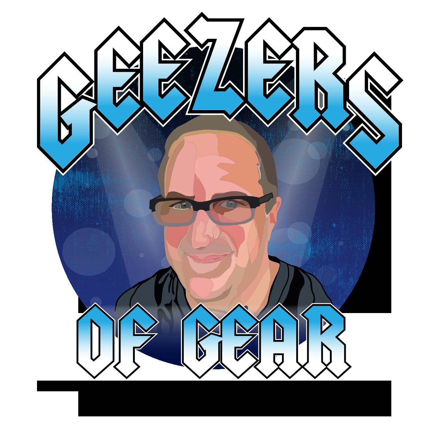 Geezers of Gear show art