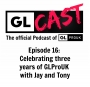 Artwork for Episode 16: Celebrating three years of GLProUK: The story so far...