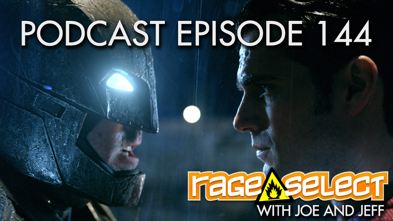 Rage Select Podcast Episode 144 - Jeff and Joe Answer Your Questions!