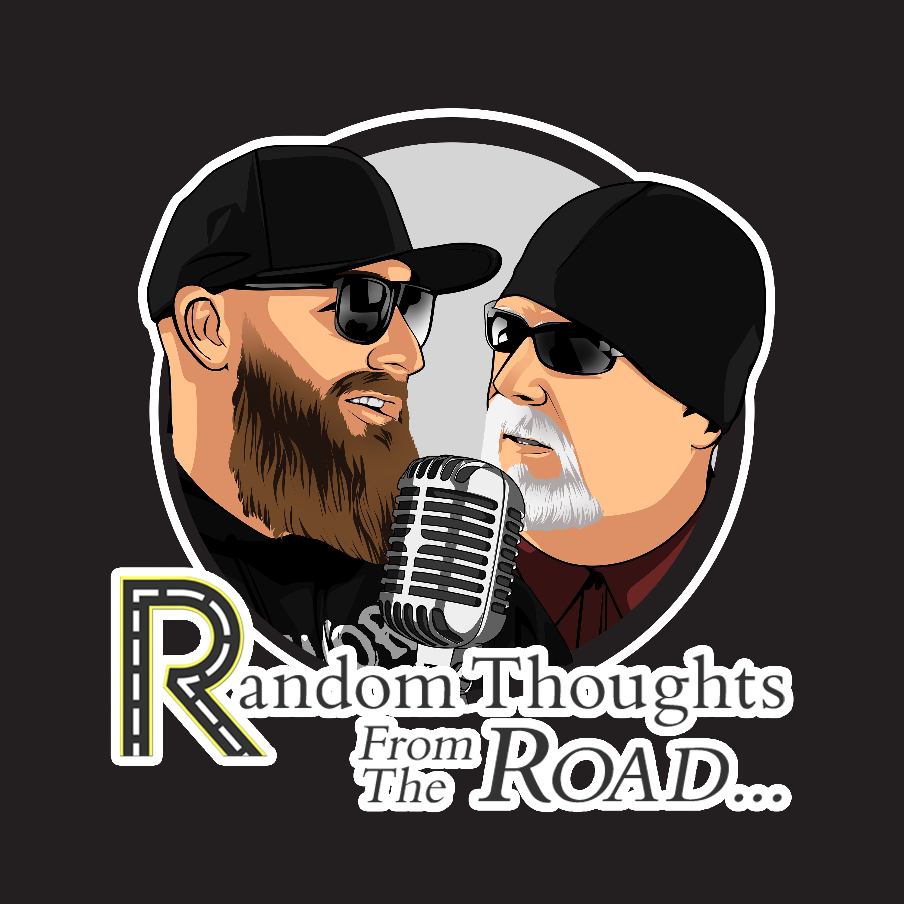 Random Thoughts From The Road show art