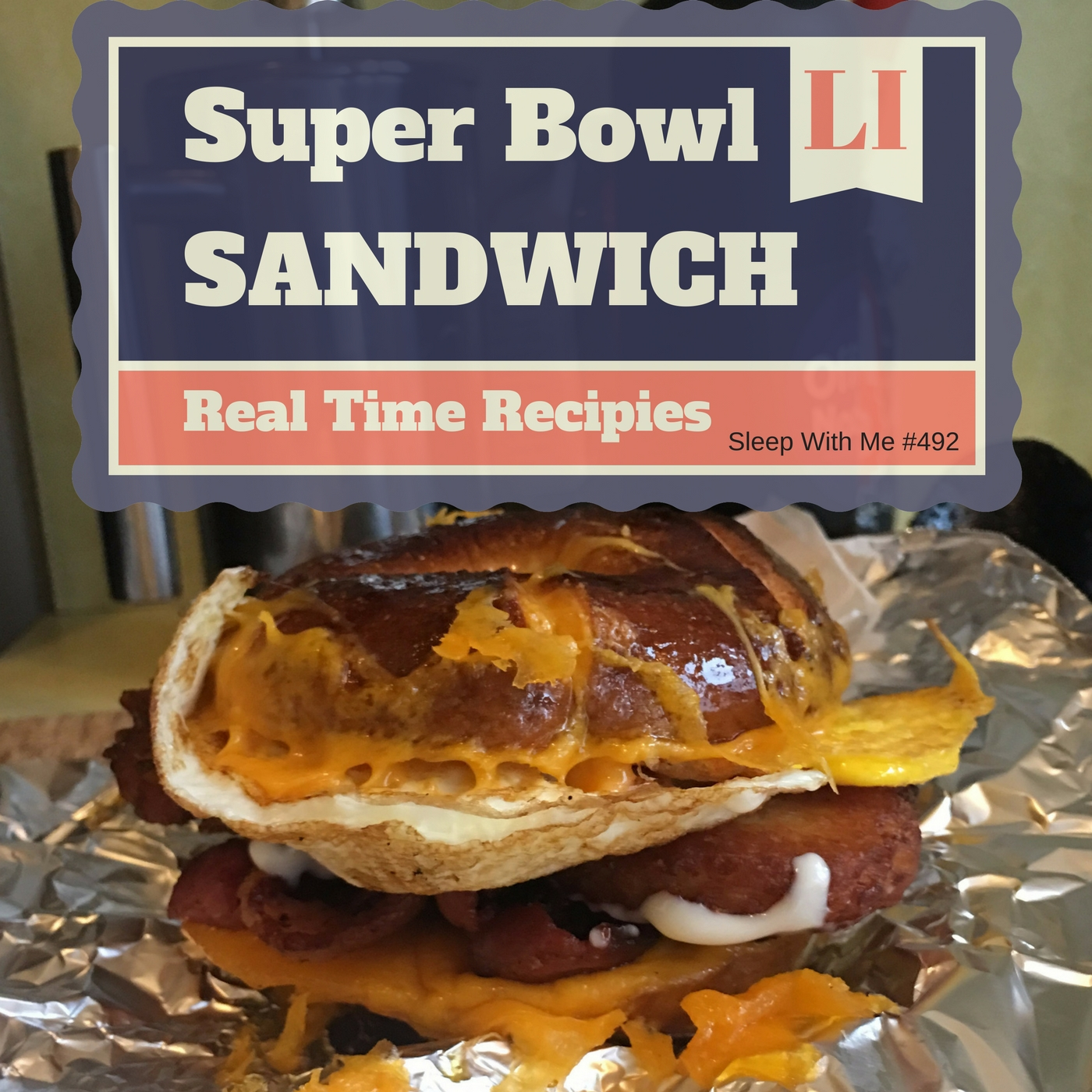 "Superbowl Sandwich ""The Lich"" 