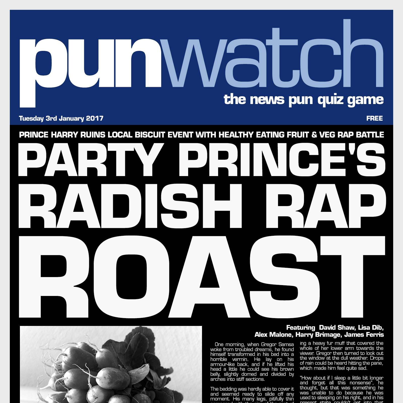 Artwork for 207 - Party Prince's Radish Rap Roast
