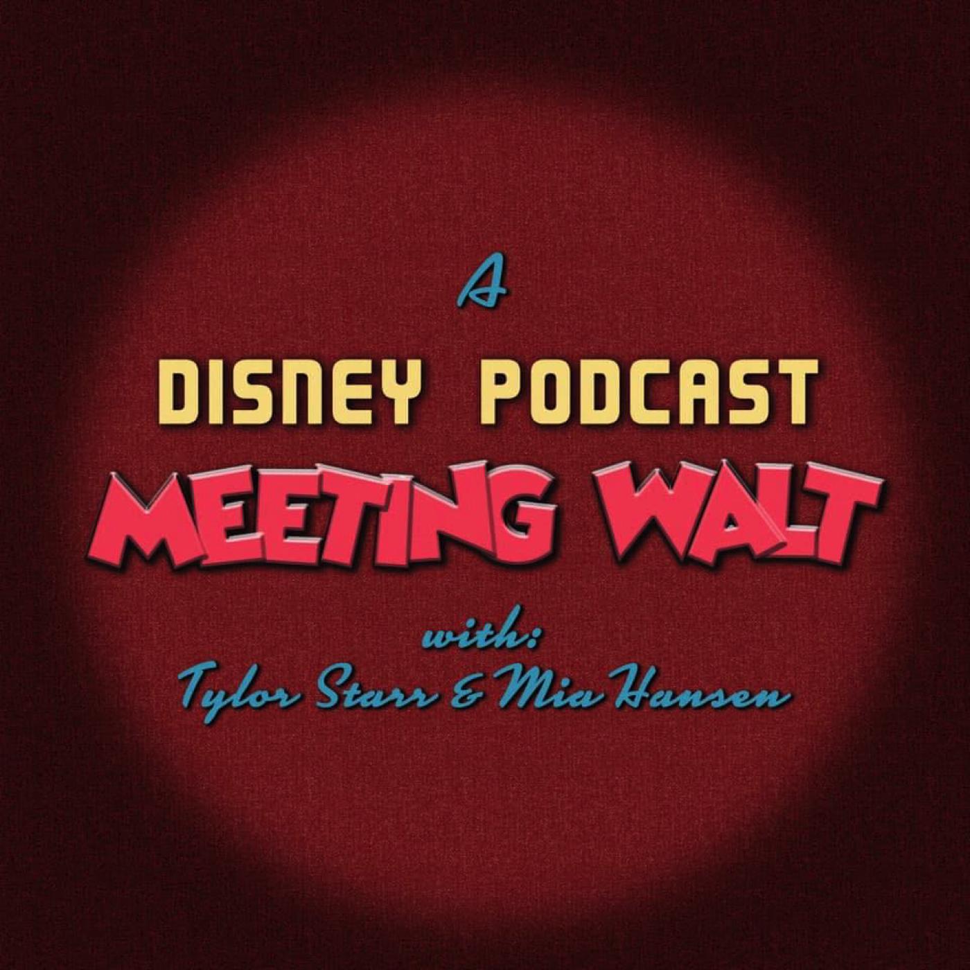 Meeting Walt: A Disney Podcast show art