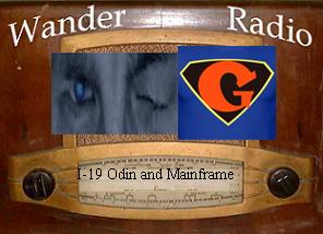 Wander Radio Interview I-19 with WNDRWolf, Odin1Eye, and me