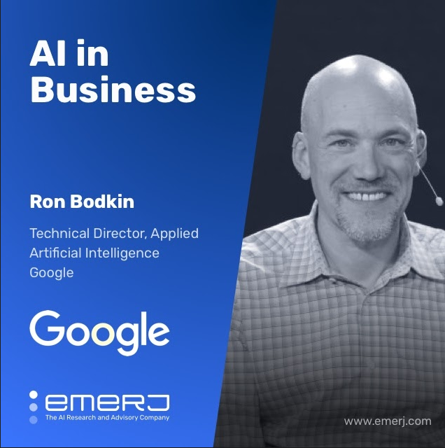 Building an Enterprise AI Adoption Roadmap - with Ron Bodkin, Technical Director of Applied AI at Google