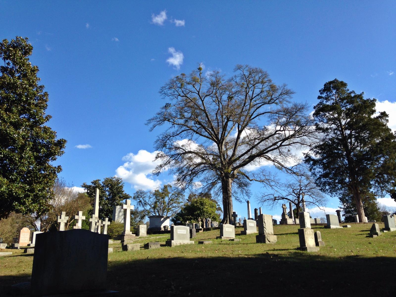 Historic Oakwood Cemetery Raleigh NC