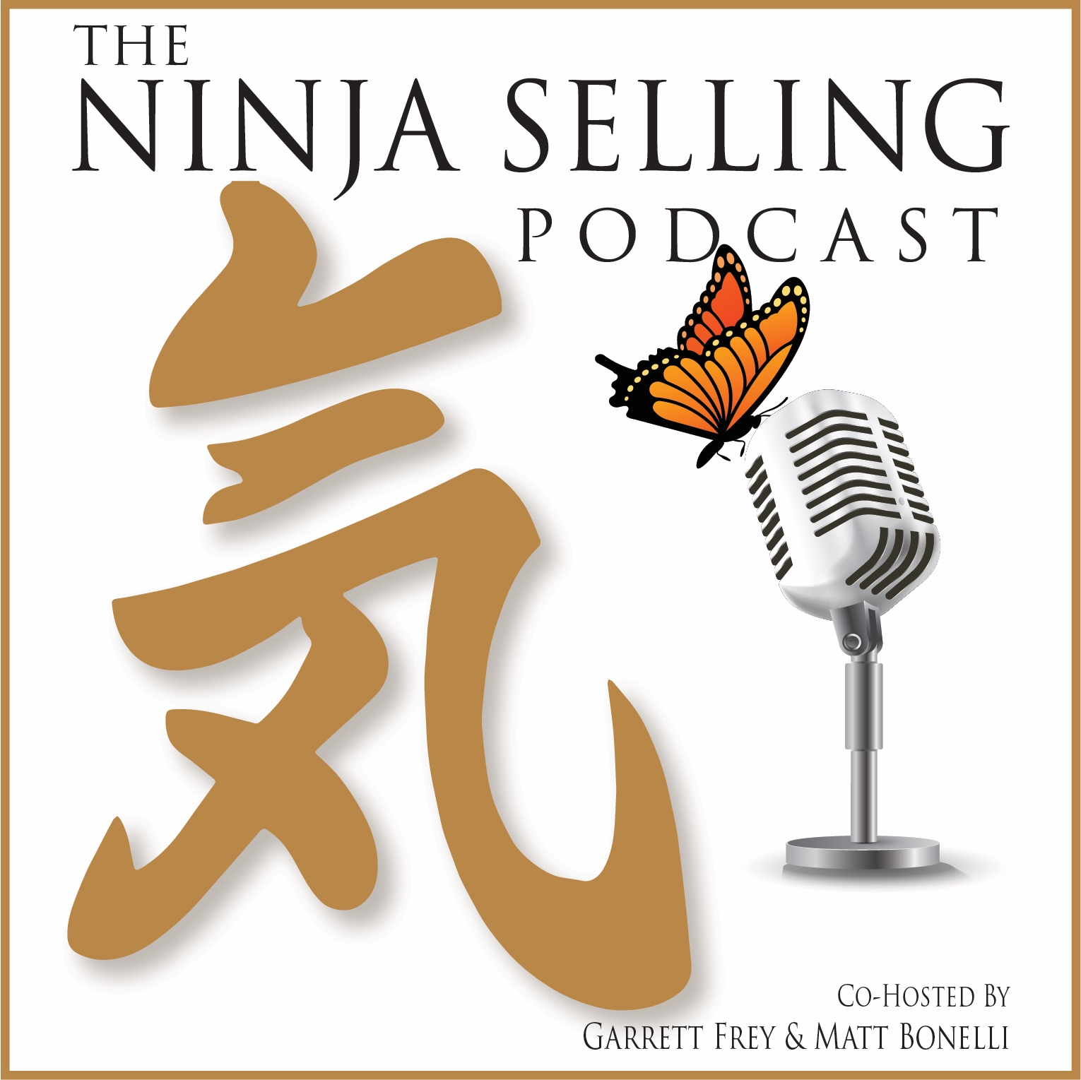 The Ninja Selling Podcast show art