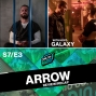 Artwork for Arrow S7 E3 - Crossing Lines - Review & Recap with host Galaxy