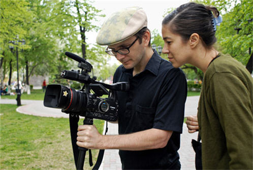 David Redmon and Ashley Sabin - Documentary Filmmakers - Mardi Gras: Made in China, Intimidad, Girl Model, Downeast