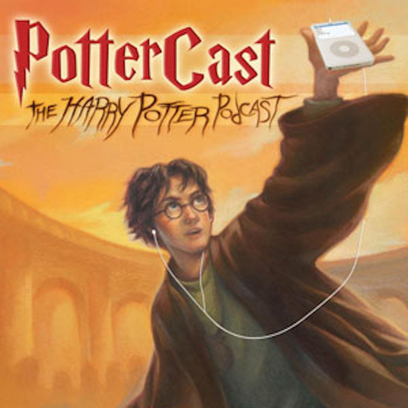 PotterCast - The Harry Potter Podcast logo