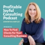 Artwork for EP02: How to Find Clients for Your Consulting Business
