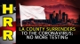 Artwork for LA County SURRENDERS to the coronavirus; no more testing