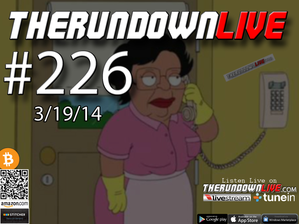The Rundown Live #226 Open Lines (Gun Tattoo, Police State, SPLC Propaganda)