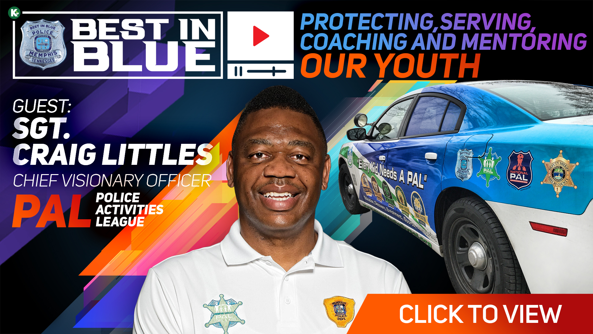 Artwork for BEST In BLUE TV - S1E4 |Our Youth w/ Sgt. Craig Littles | KUDZUKIAN