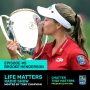 Artwork for Brooke Henderson.  She has Heart and She has Game
