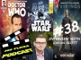 Artwork for 365Flicks #38 Interview W/ Cavan Scott, Comic Writer of Dr Who/ Vikings/ Star Wars and Many Many More