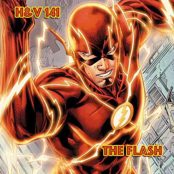 141: The Flash (Barry Allen) with Bruce
