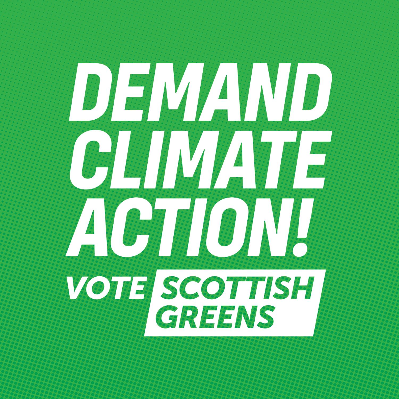 Artwork for Scottish Greens' General Election Manifesto 2019