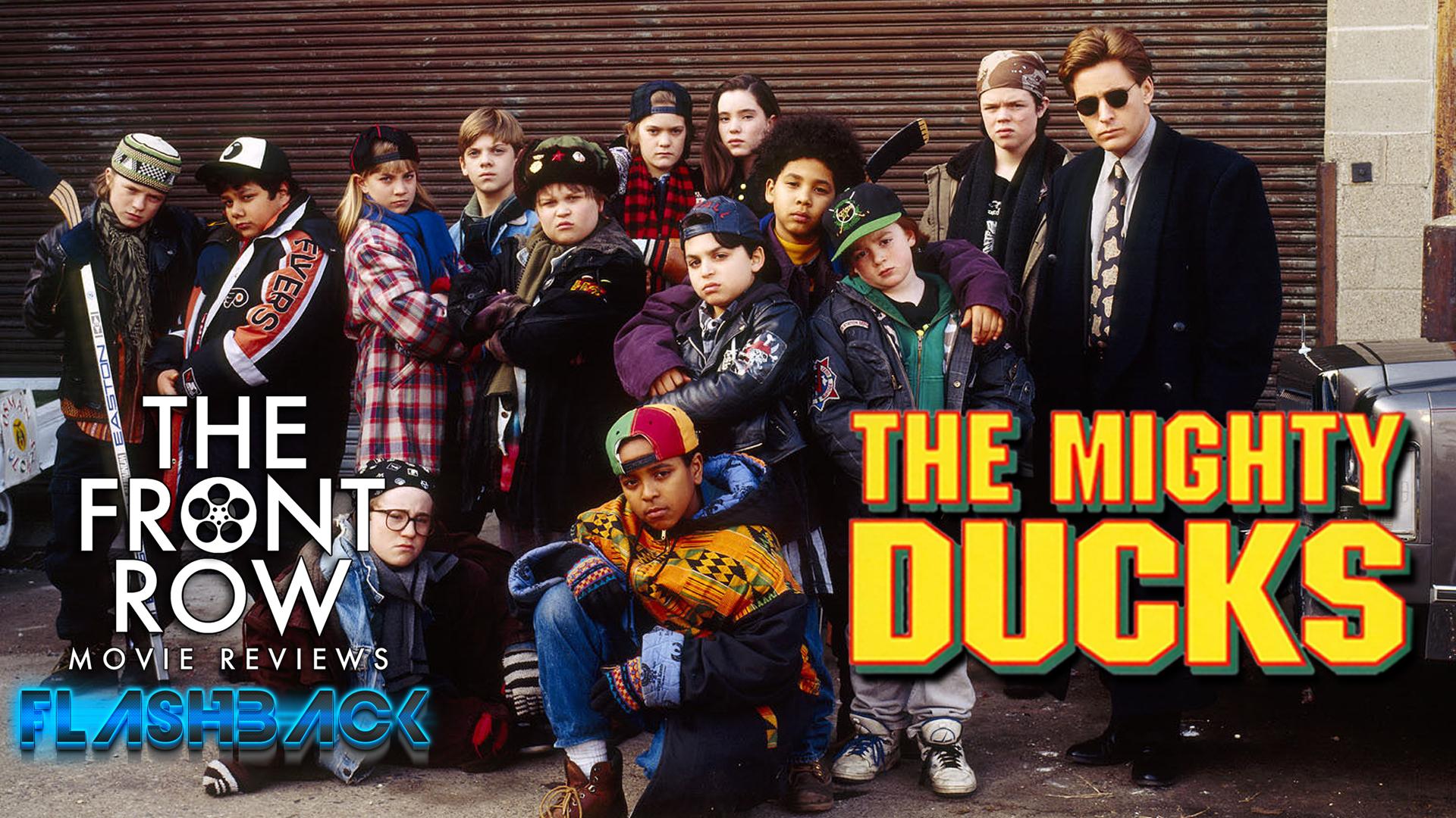 9caa34032 The Front Row Network: Front Row Flashbacks - The Mighty Ducks