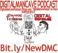 Digital Mancave Podcast logo