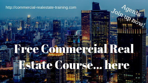 free commercial real estate brokkerage course