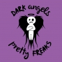 Artwork for DAPF #116. Dark Angels & Pretty Freaks #116. Annaleis & Neil talk about Heat wave in Napa, Tshirts,  Lowes, Lightly Rear ended, Meeting new friends for a baseball game, Vegas, Icemakers, 5 Favorite movies to make in to TV shows and so much more!