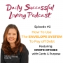 Artwork for How To Use The Envelope System To Pay Off Debt With Kristin Stones